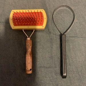 Dog's brush